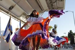 Baile típico de Costa Rica, Presentación del 15 de Septiembre en Los Ángeles, CA